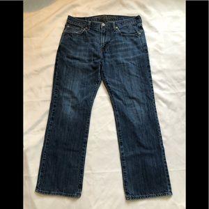 Men's American Eagle jeans.